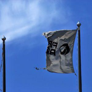 mezza... bandiera al vento