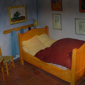 Arles... stanza del grande Vincent van Goghm