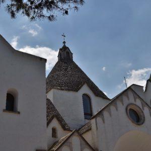 la chiesa a trullo di Sant´Antonio - The church of Trullo di Sant'Antonio