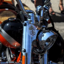 the Fantasy of HARLEYSTI… in putting the Pope's symbol on Blessing Day June 2013