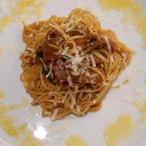 spaghetti buoni del senator cappelli con funghi porcini ...