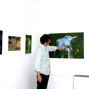 I point out the self-timer 'baby elephant zampilli d'acqua della serie dei miei Zampilli di ... Vita
