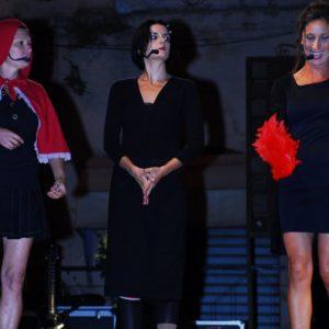 Loredana DE PAOLA (sulla sinistra) Annalisa AGLIOTI moglie modello (al centro) Giuditta CAMBIERI (sulla destra)