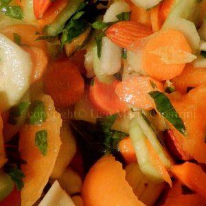 Macelata ... inventata da me me, un pò macedonia un pò insalata